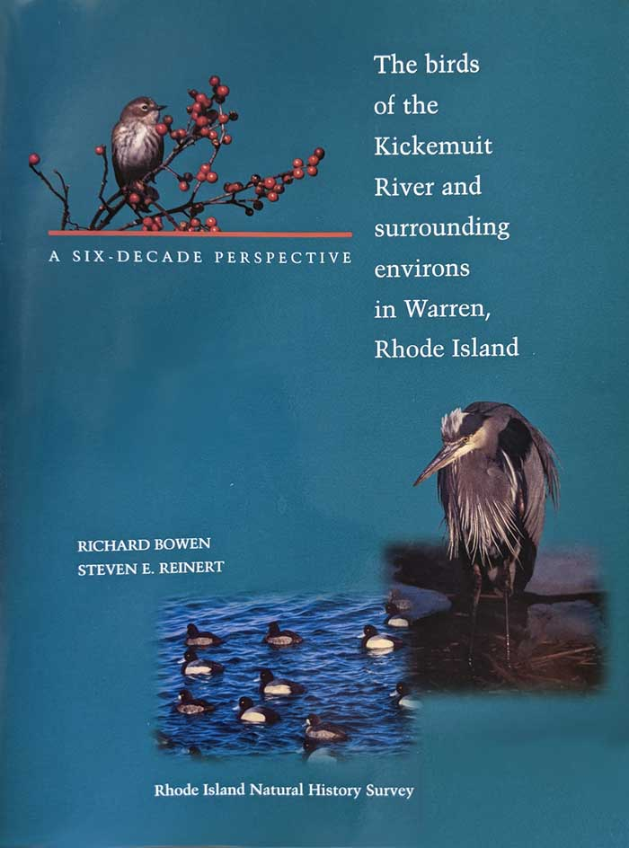 A Six Decade Perspective: The Birds of the Kickemuit River and Surrounding Environs in Warren, Rhode Island Book Cover