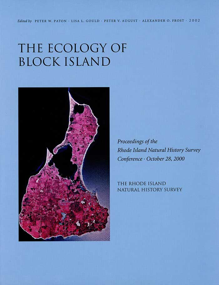 The Ecology of Block Island: Proceedings of the Rhode Island Natural History Survey Conference, October 28, 2000 Book Cover