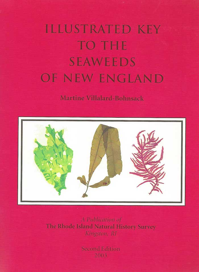 Illustrated Key to the Seaweeds of New England Book Cover