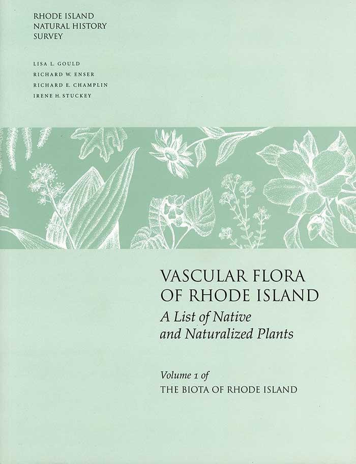 Vascular Flora of Rhode Island Book Cover