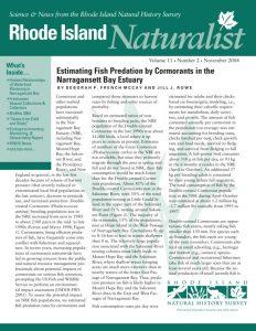 Rhode Island Naturalist cover
